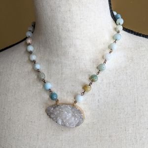 Crystal Formation Necklace